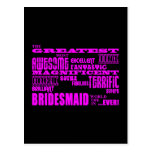 Fun Gifts for Bridesmaids : Greatest Bridesmaid Postcard