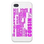 Fun Gifts for Cousins : Greatest Cousin iPhone 4/4S Cover