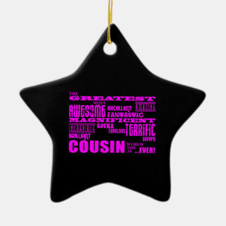Fun Gifts for Cousins : Greatest Cousin Ornaments