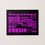 Fun Gifts for Cousins : Greatest Cousin Jigsaw Puzzle