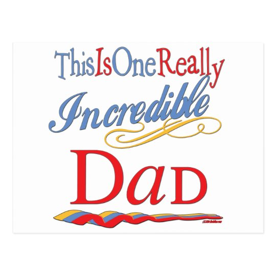 Fun Gifts For Dads Postcard
