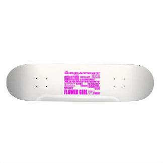 Fun Gifts for Flower Girls : Greatest Flower Girl Skate Board Decks