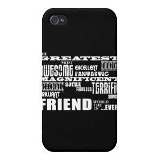 Fun Gifts for Friends : Greatest Friend iPhone 4 Case