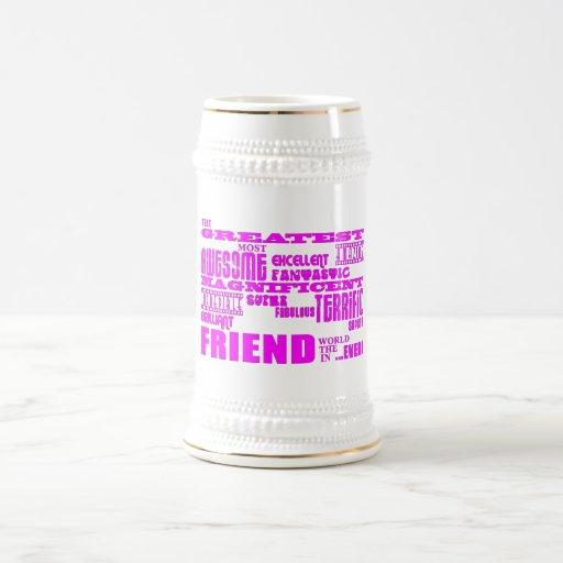 Fun Gifts for Friends : Greatest Friend Mug