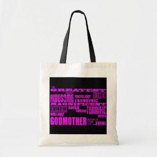 Fun Gifts for Godmothers : Greatest Godmother Tote Bag