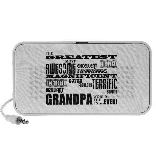 Fun Gifts for Grandfathers : Greatest Grandpa Speaker