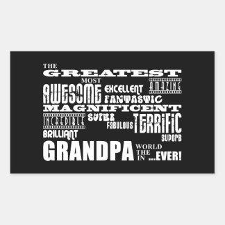 Fun Gifts for Grandfathers : Greatest Grandpa Stickers