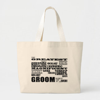 Fun Gifts for Grooms : Greatest Groom Canvas Bag