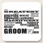 Fun Gifts for Grooms : Greatest Groom Coasters