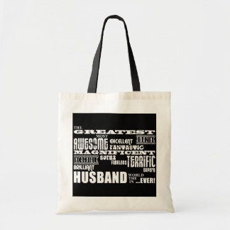Fun Gifts for Husbands : Greatest Husband Tote Bags