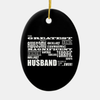 Fun Gifts for Husbands : Greatest Husband Ornaments