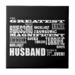 Fun Gifts for Husbands : Greatest Husband Tiles