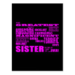 Fun Gifts for Sisters : Greatest Sister Postcards