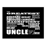 Fun Gifts for Uncles : Greatest Uncle Postcard