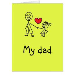 Fun Gigantic Card for Dad