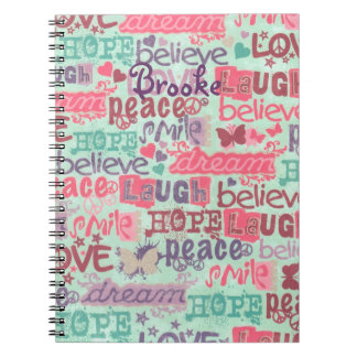 Fun Girl Sayings Notebook Personalized