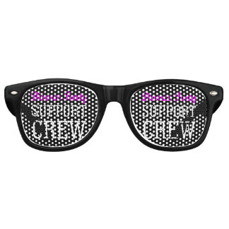Fun Girls Night Out support crew Divorce Party Retro Sunglasses