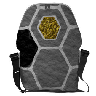 Fun Glowing Amazing Exciting Courier Bag