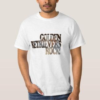 Fun GOLDEN RETRIEVER Art Text Value T-Shirt