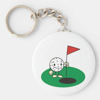 Fun Golf Keychain