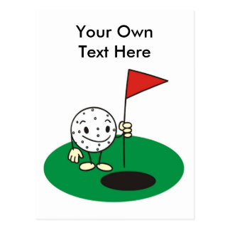 Fun Golf Postcard for any occasion