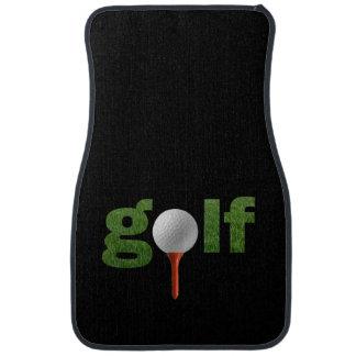 Fun Golf Sports Design Car Floor Mat