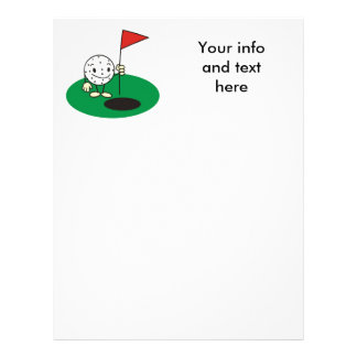 Fun Golf Stationary Letterhead