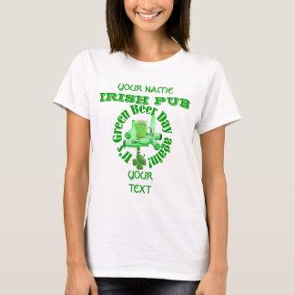 Fun green beer day  St Patrick's T-Shirt