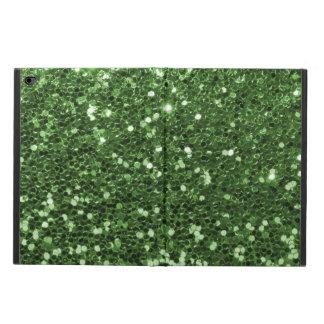 Fun Green Faux Glitter Print Powis iPad Air 2 Case