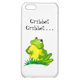 Fun Green Frog Hand-painted Cartoon iPhone 5C Covers