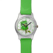 Fun Green Owl Wrist Watch #Accessory #Watches