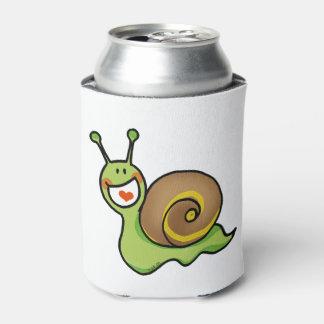 fun green snail can cooler