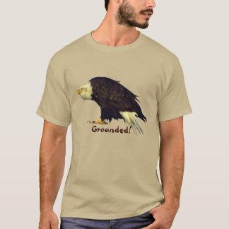 "Fun ""Grounded"" Bald Eagle Wildlife-lover's Tee"