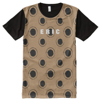 Fun Grunge Dots Pattern Custom Color A18 All-Over-Print T-Shirt