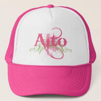 Fun Grunge Pink Alto Choir T Shirt Gift Trucker Hat