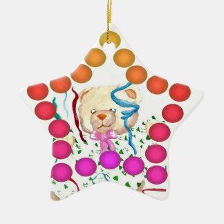 Fun Gumdrop Ornament Party Teddy Bear Star 2