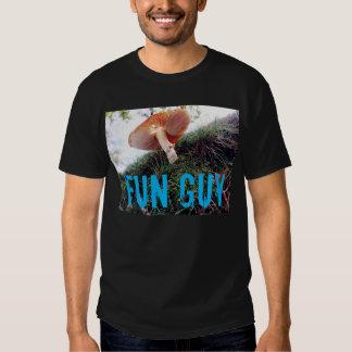 Fun guy fungi funny t-shirt