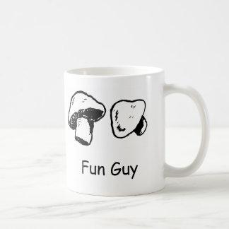 Fun Guy, Fungi Classic White Coffee Mug