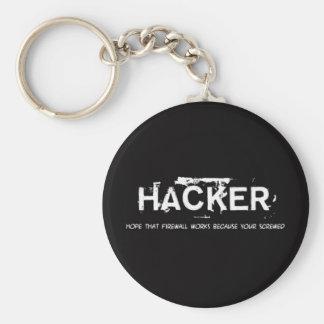 Fun hackers llaveros personalizados