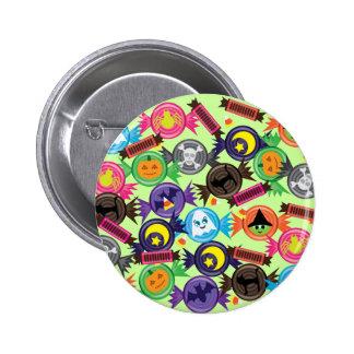 Fun Halloween Candy Pinback Button