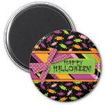 Fun Halloween Candy Print Magnet