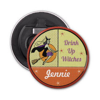 Fun Halloween - Drink Up Witches Bottle Opener
