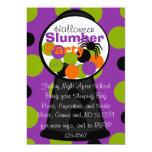 Fun Halloween Gumball Machine 5x7 Paper Invitation Card