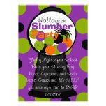 Fun Halloween Gumball Machine Invite