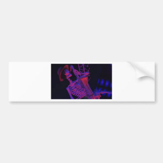 Fun Halloween Music Gifts and Party Favors Bumper Sticker