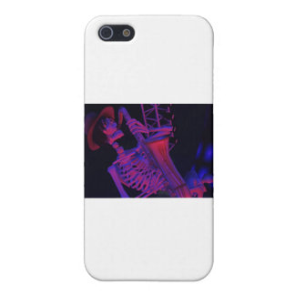 Fun Halloween Music Gifts and Party Favors Case For iPhone SE/5/5s