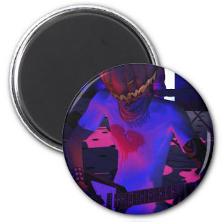 Fun Halloween Music Gifts and Party Favors Fridge Magnet