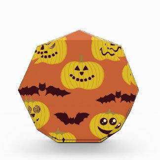Fun Halloween Pumpkin Bat Design Award