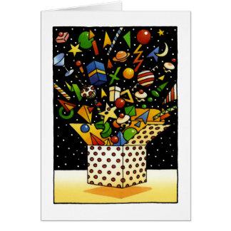 Fun Happy Christmas Gifts Greeting Card