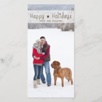 FUN HAPPY HOLIDAYS | HOLIDAY PHOTO CARD